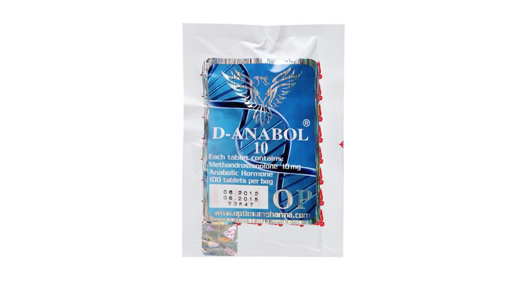 D-Anabol 10mg/100 Tablets