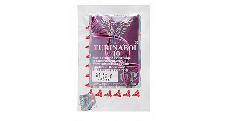 Oral Turinabol 10mg/50 Pills